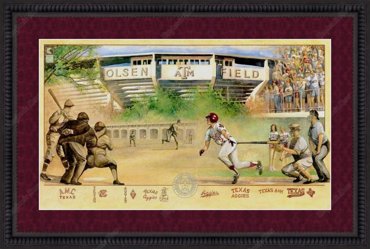Aggie Baseball Collage / ArtPaper