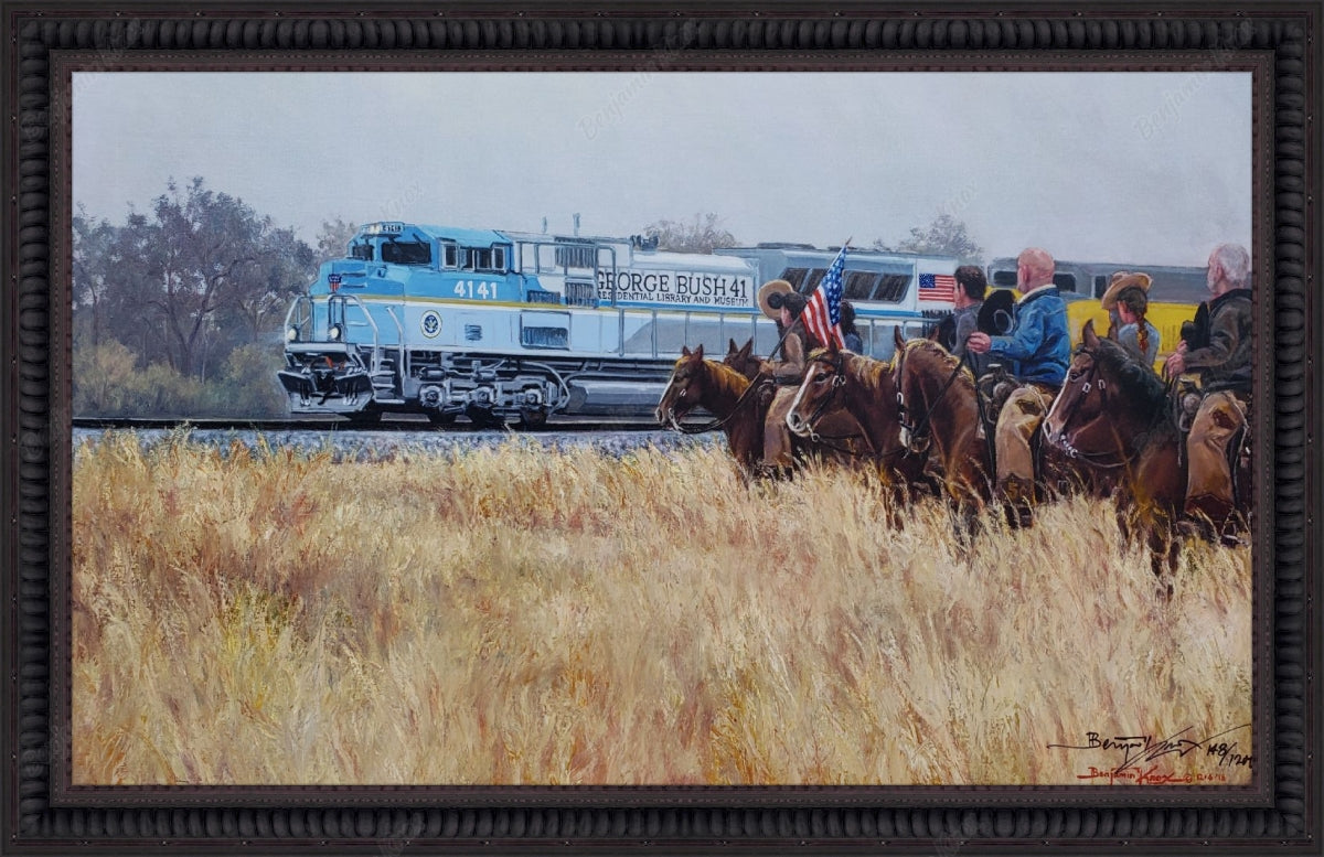Bush 4141 Train / ArtCanvas