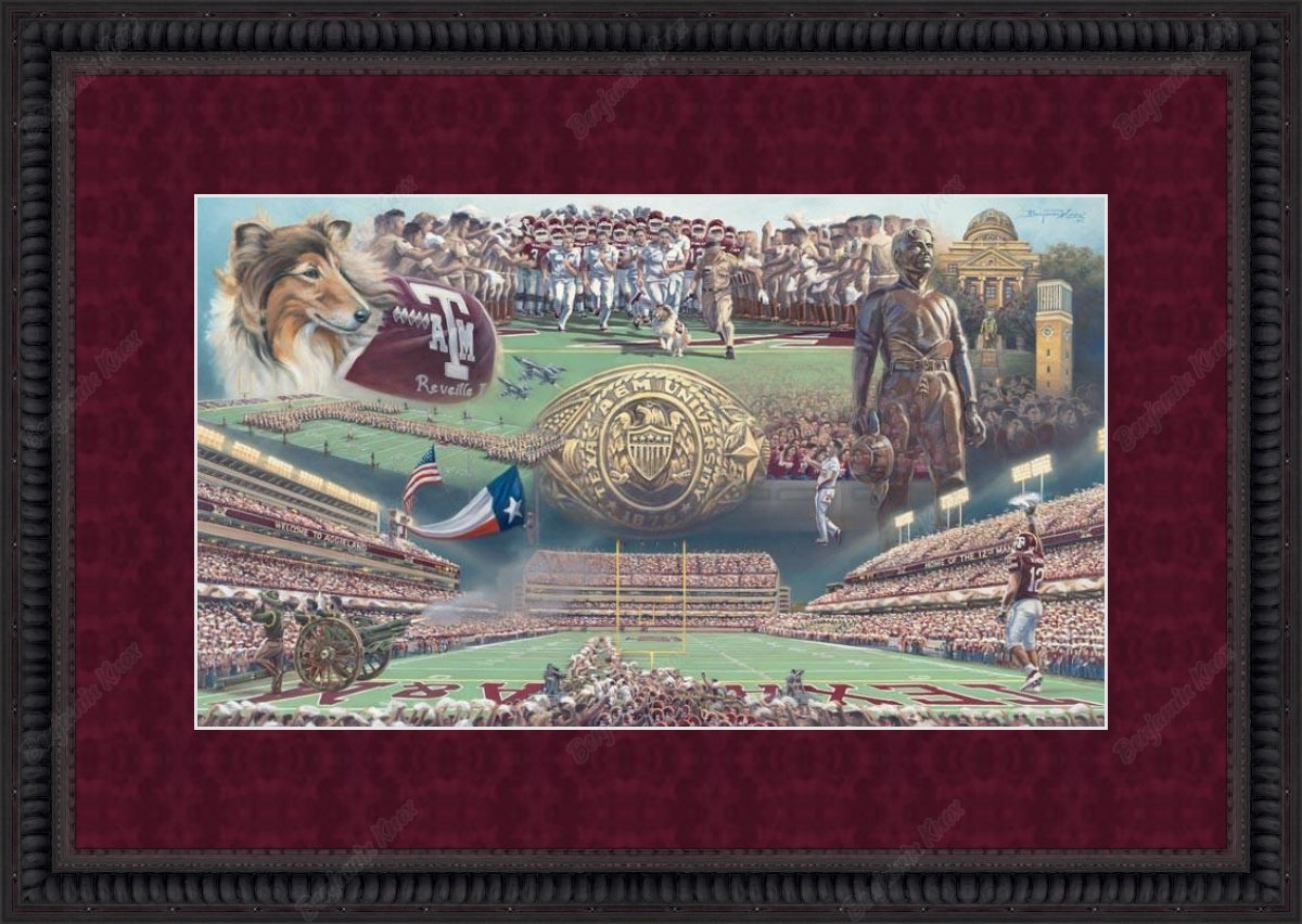 Texas A&M University - Home of the 12th Man / ArtPaper