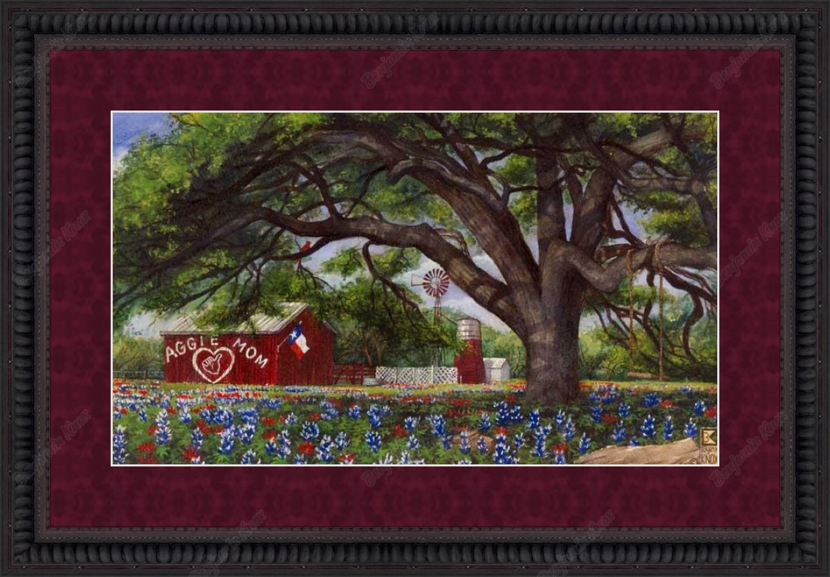 Aggie Mom Barn / ArtPaper