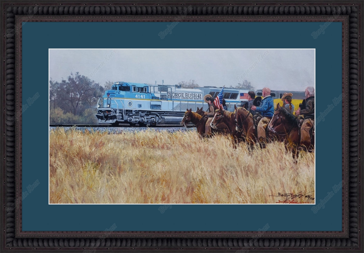 Bush 4141 Train / ArtPaper