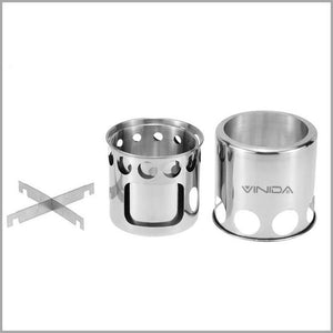 Camping Stove | Camping Grill | Camping Cooking Equipment | Portable Stove for Hiking Picnic Fishing