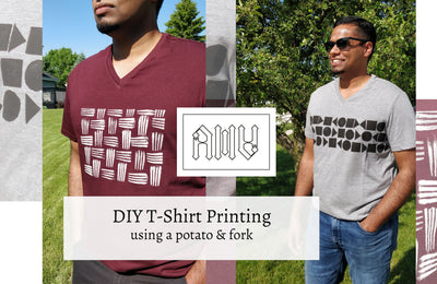 DIY Printing Tees : Father's Day Gifts