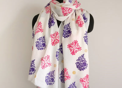 Luxury Silk Wool scarves