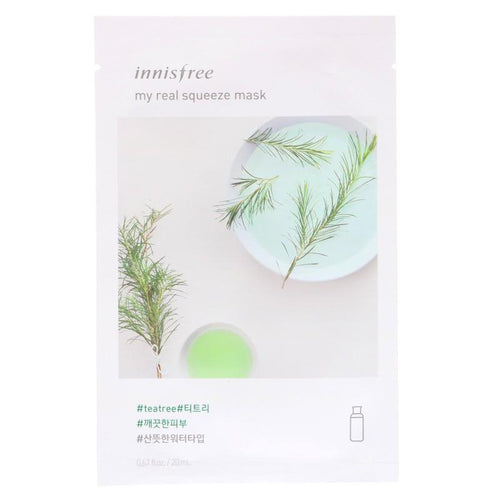 My Real Squeeze Mask - Tea Tree - SevenBlossoms