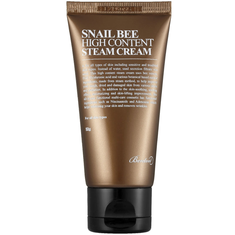 Snail Bee High Content Steam Cream 50g - SevenBlossoms