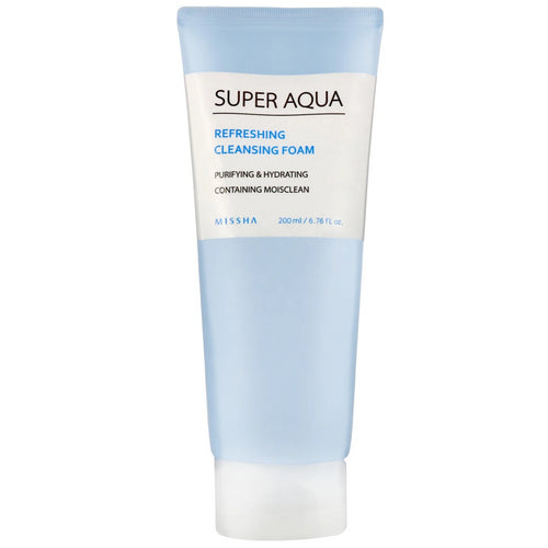 Super Aqua Refreshing Cleansing Foam 200ml - SevenBlossoms