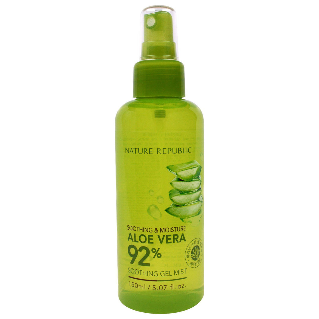 Soothing & Moisture Aloe Vera 92% Soothing Gel Mist 150ml - SevenBlossoms