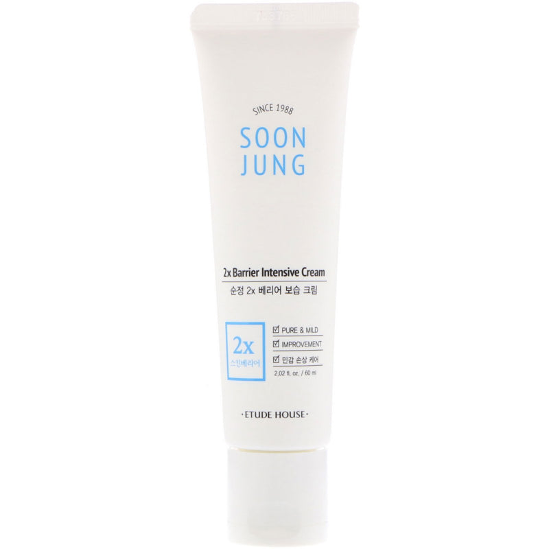 Soon Jung 2x Barrier Intensive Cream 60ml - SevenBlossoms