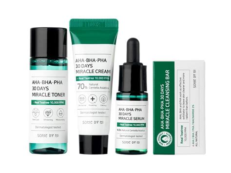 AHA, BHA, PHA 30 Days Miracle Starter Limited Set 4 pcs