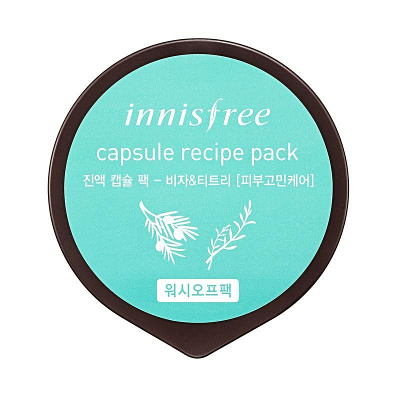 Capsule Recipe Pack - Bija & Tea Tree10ml - SevenBlossoms