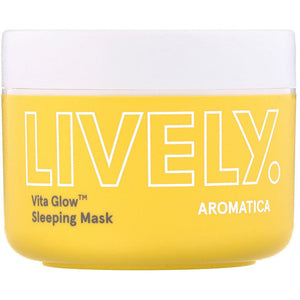 AROMATICA  Lively Vita Glow Sleeping Mask seven blossoms
