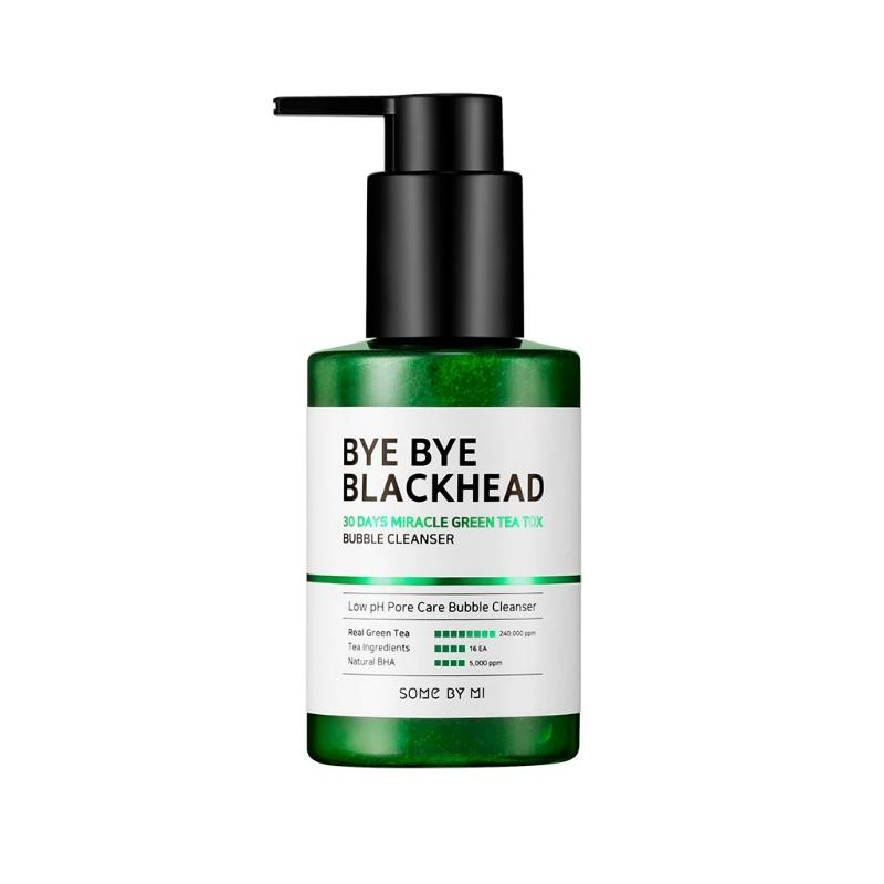 Bye Bye Blackhead 30 Days Miracle Green Tea Tox Bubble Cleanser 120ml - SevenBlossoms