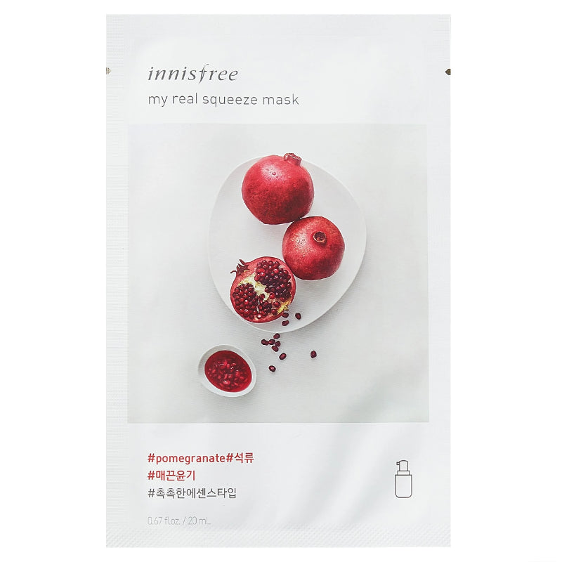 My Real Squeeze Mask Pomegranate - SevenBlossoms