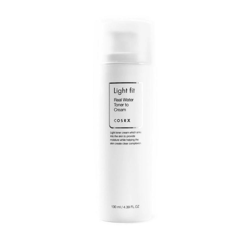 Light Fit Real Water Toner to Cream 130ml - SevenBlossoms