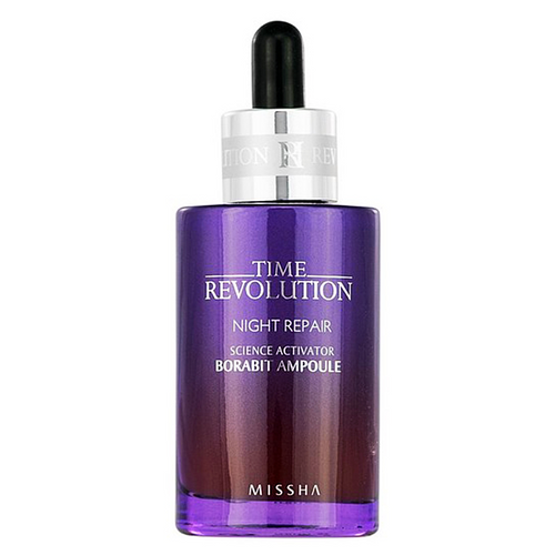 Time Revolution Night Repair New Science Activator Ampoule Borabit 50ml - SevenBlossoms