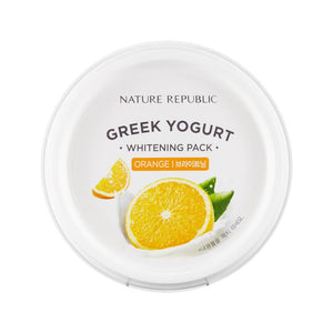 Greek Yogurt Whitening Pack - Orange 130ml - SevenBlossoms
