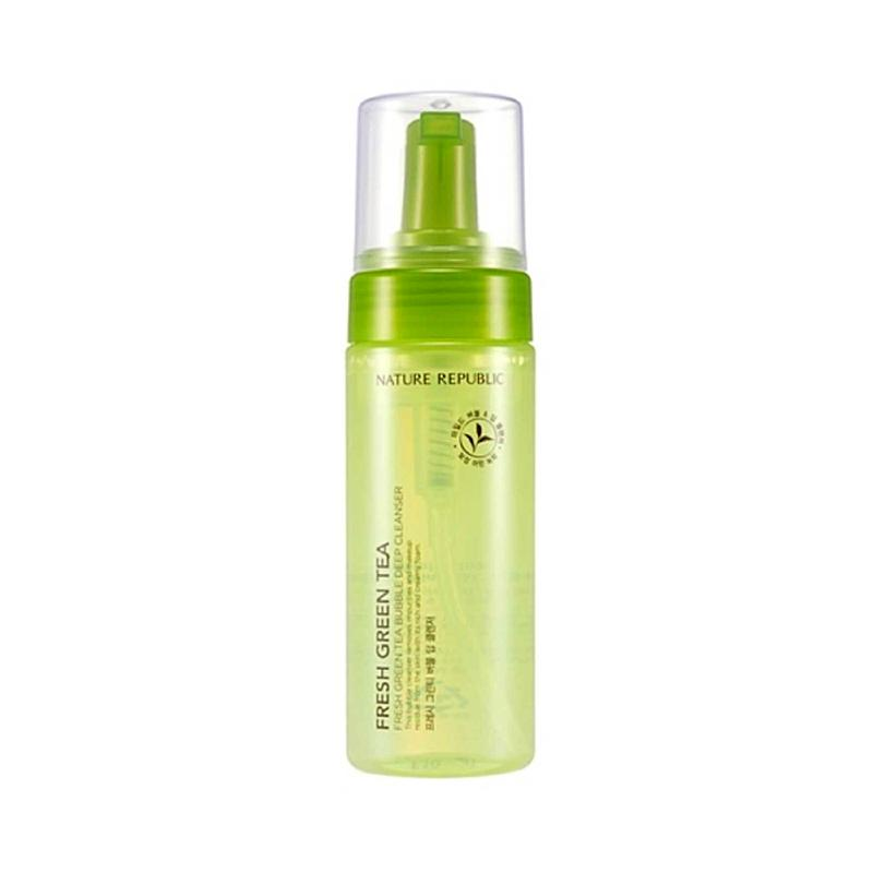 Fresh Green Tea Bubble Deep Cleanser 150ml - SevenBlossoms