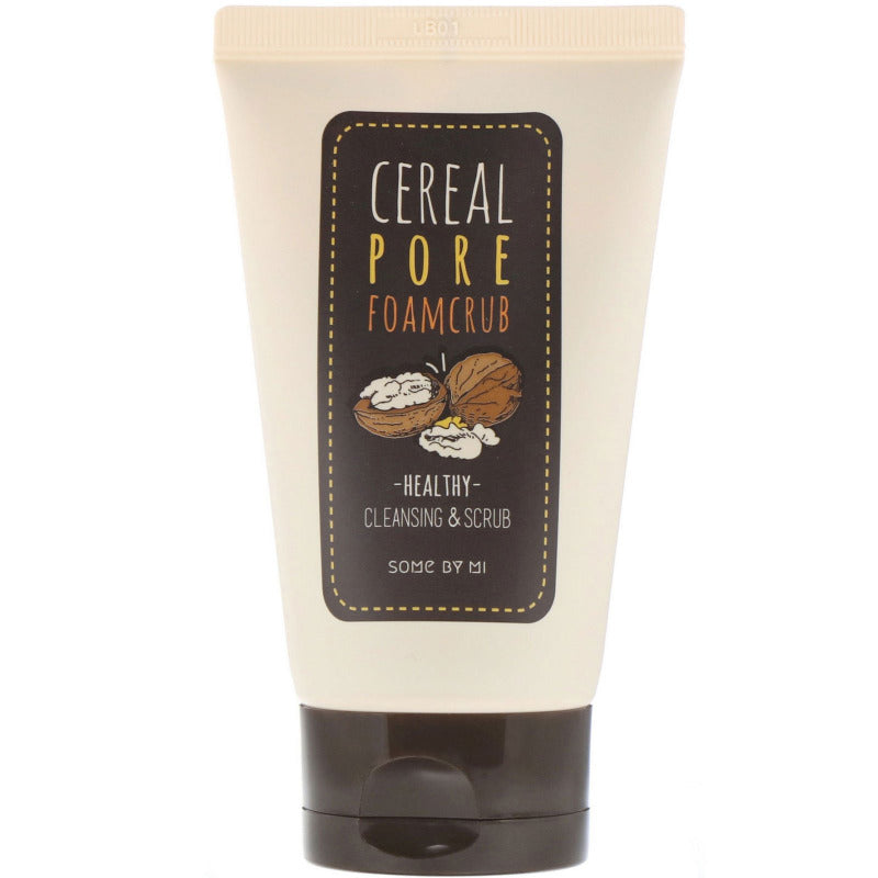Cereal Pore Foamcrub 100ml - SevenBlossoms