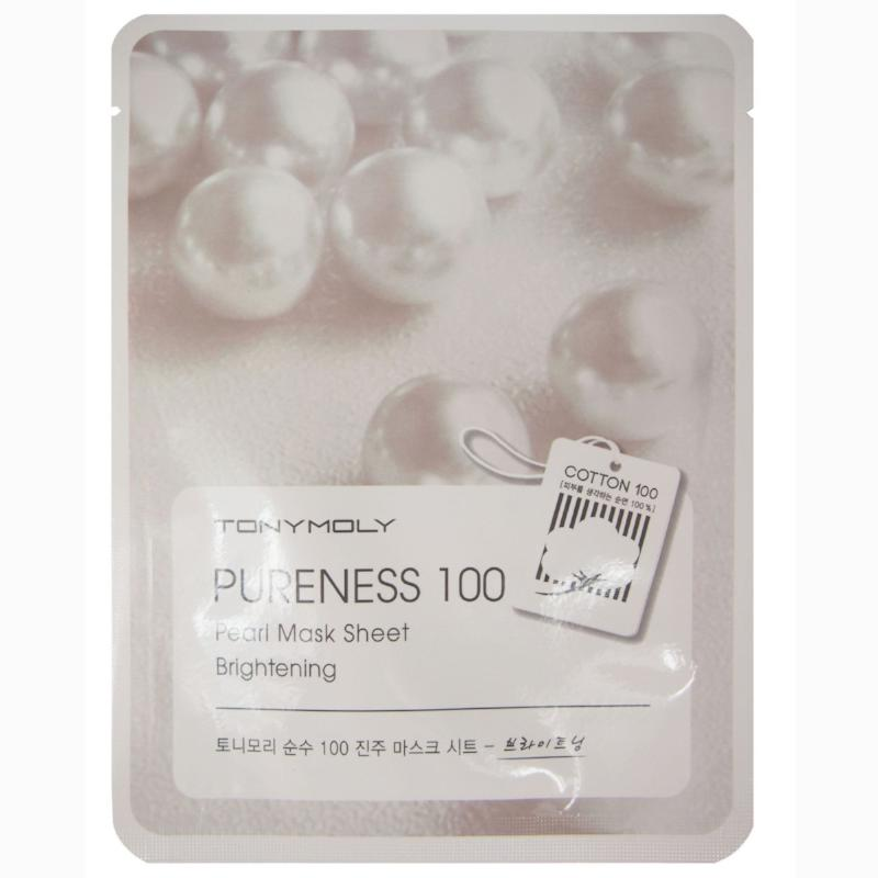 Pureness 100 Mask Sheet - Pearl - SevenBlossoms