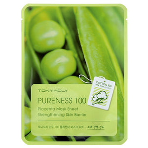Pureness 100 Mask Sheet Placenta (Vitality) - SevenBlossoms