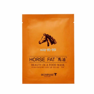 Skinfood Beauty In A Food Mask  Horse Fat - SevenBlossoms