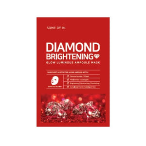 Diamond Brightening Glow Luminous Ampoule Mask (1pc) - SevenBlossoms