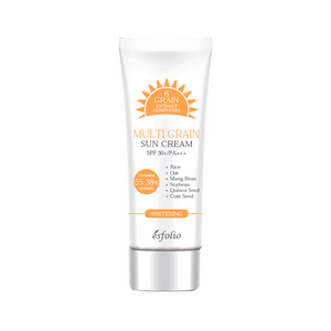 esfolio Multi Grain Sun Cream seven blossoms