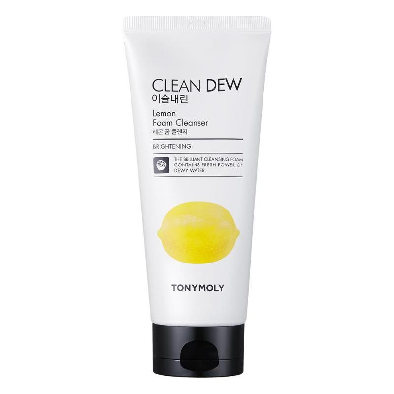 Clean Dew Foam Cleanser 180ml -Lemon - SevenBlossoms
