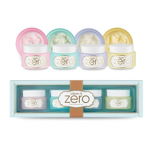 Clean It Zero Macaron Mini Set 4pcs
