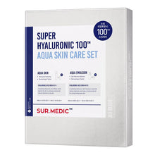 Load image into Gallery viewer, Surmedic Super Hyaluronic 100TM Aqua Skin Care Set