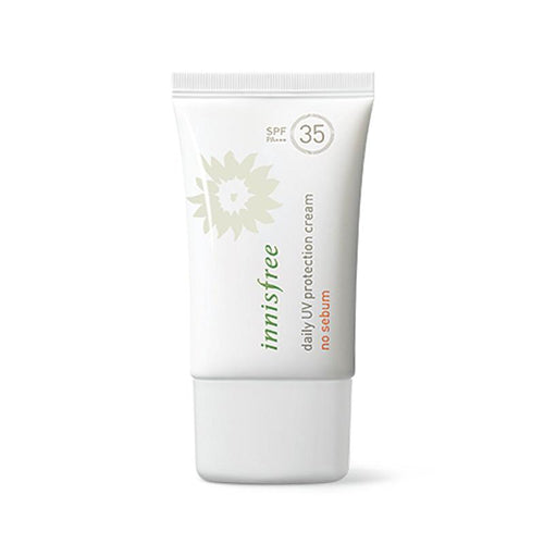 Daily Uv Protection Cream No Sebum SPF35  PA+++ 50ml - SevenBlossoms