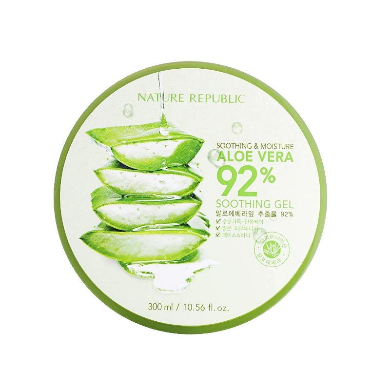 Soothing & Moisturising Aloe Vera 92% Soothing Gel - SevenBlossoms
