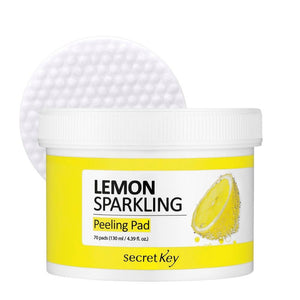 secret key Lemon Sparkling Peeling Pad seven blossoms