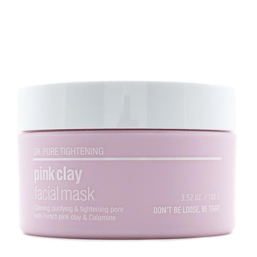 Pink Clay Facial Mask 100g - SevenBlossoms