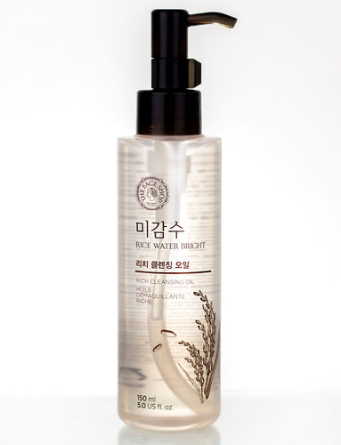 Rice Water Bright Rich Cleansing Oil 150ml - SevenBlossoms