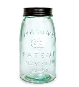 Quart Mason Jar with Lid