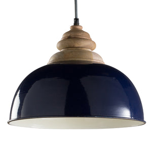Foster Hanging Light - Royal Blue