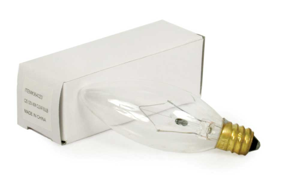Short 25 Watt Light Bulb