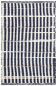 5x8 Marlo Navy Indoor-Outdoor Rug