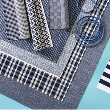 Load image into Gallery viewer, 4x6 Fusion Blue Indoor-Outdoor Rug