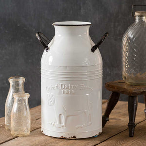 Oxford Dairy Farms Milk Can