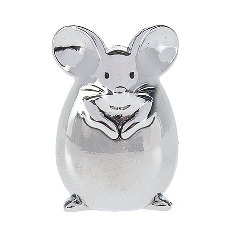 Cheerful Little Mouse Charm
