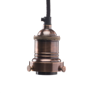 Cord, Socket + Canopy Kit - Copper