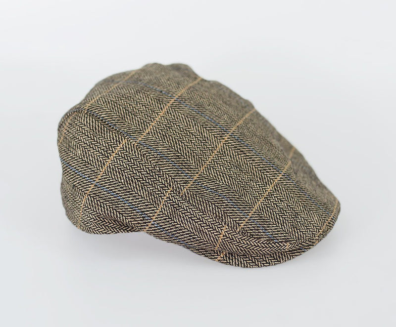 Albert Tweed Flat Cap - Hats - S/M Brown - ThreadPepper