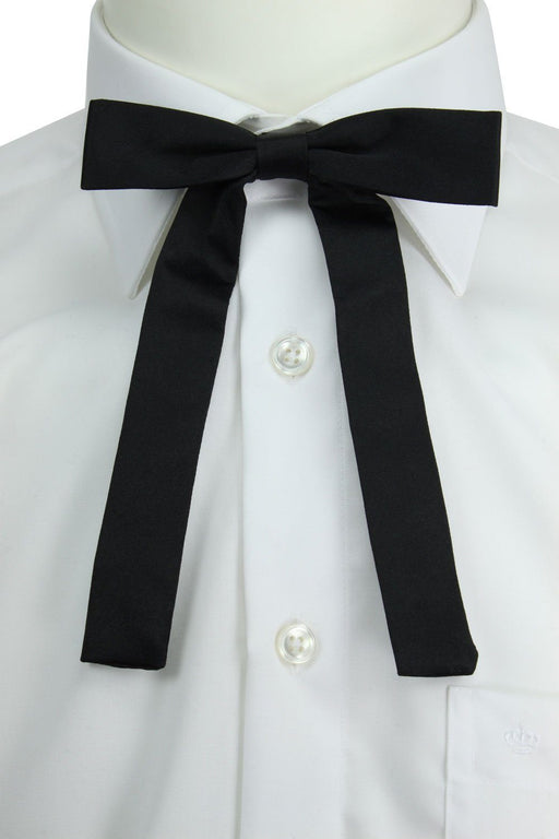 Black Kentucky Colonel Bow Tie - Bow Ties - - ThreadPepper