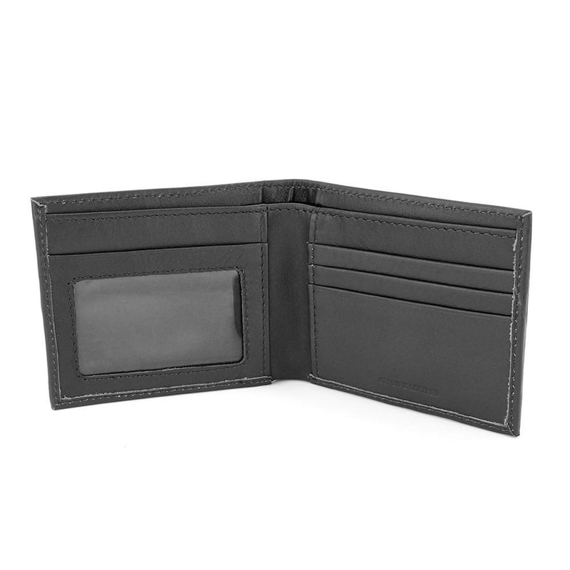 Black Leather RFID Wallet - Wallets - - ThreadPepper