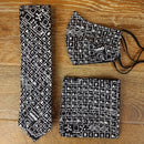 Black Periodic Table Science Tie - Ties - - ThreadPepper