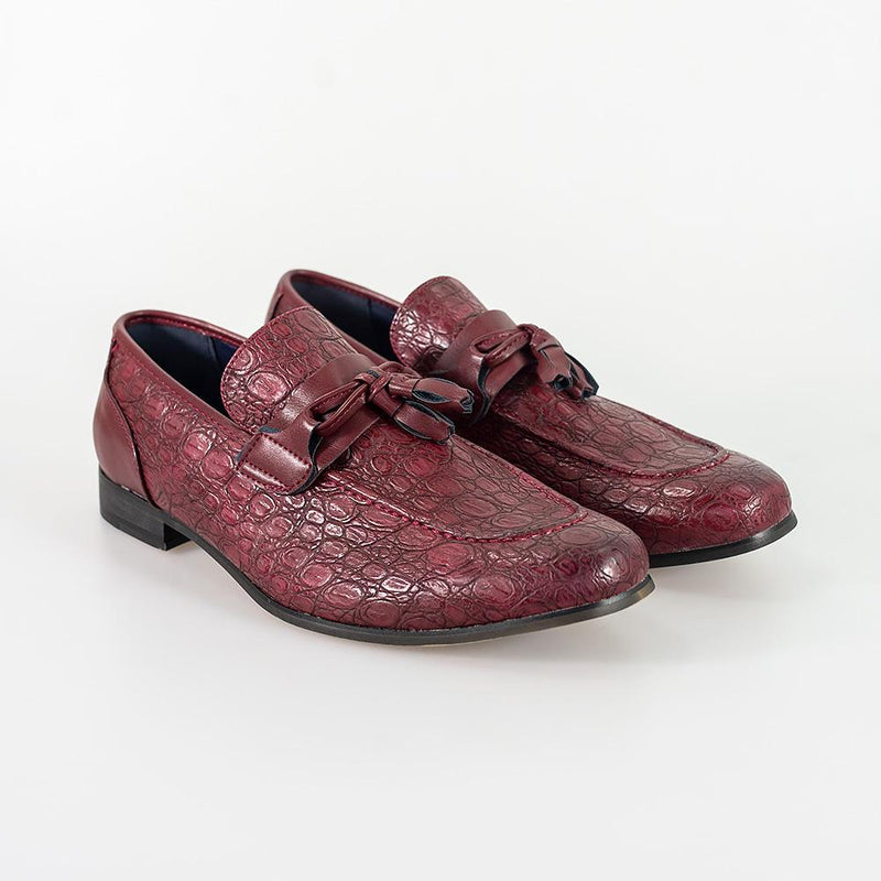 Brindisi Dark Red Shoe - Shoes - 7 - ThreadPepper