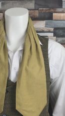 Autumnal Dreams Linen Backed Cotton Cravat - LIMITED EDITION